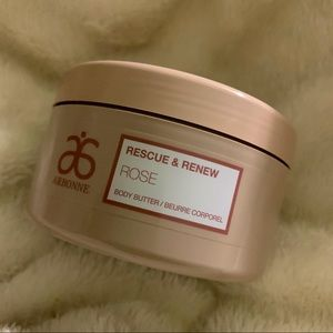 Arbonne Rescue and renew Rose body butter